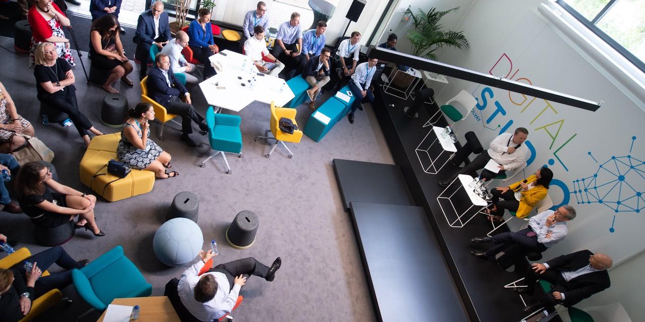 Solvay inaugure son European Digital Studio à Bruxelles