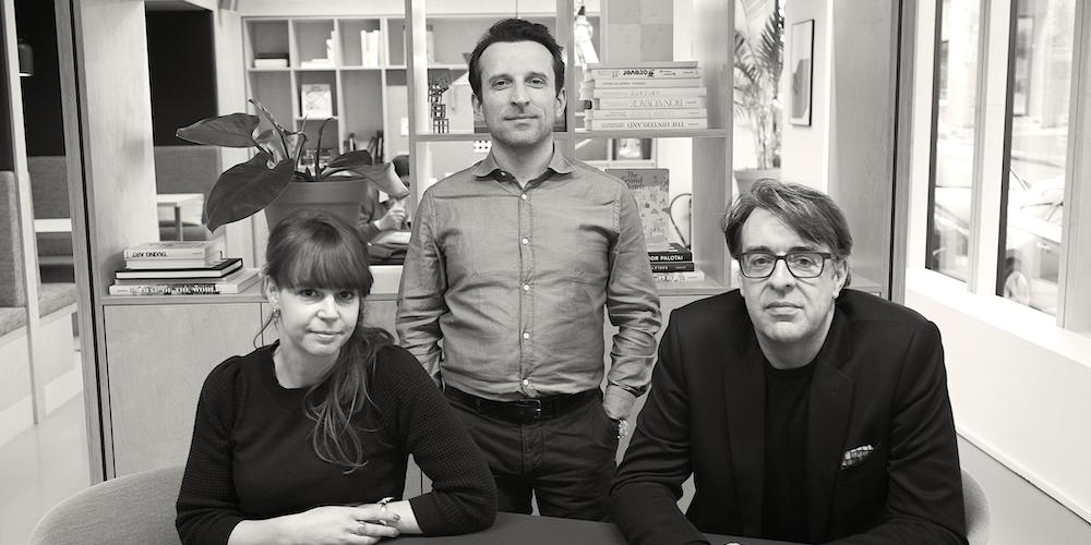 Photo of Sophie De Plecker et Wim Vermeulen au management d'Isobar