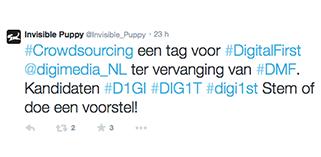Invisible Puppy lanceert Crowdsourcing Initiatief voor Digital First Hashtag